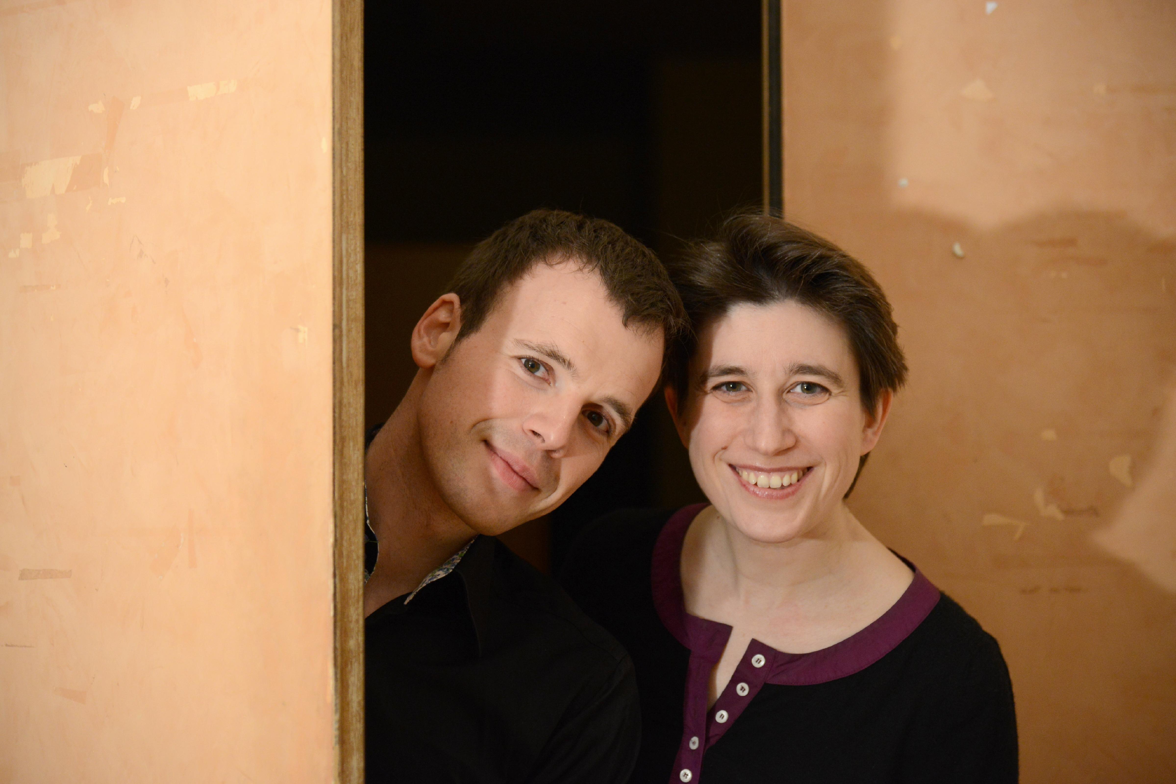 Avec Anne Le Bozec © J.Radel